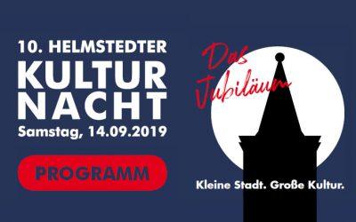 Das Programm der 10. Helmstedter Kulturnacht