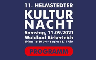 11. Helmstedter Kulturnacht – Das Programm